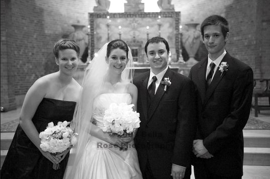 Now All 4 siblings at the Wedding this past May
