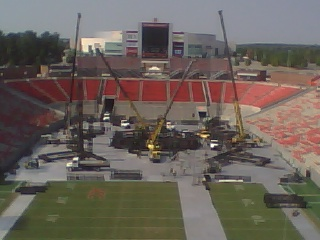 U2's 360 Stage