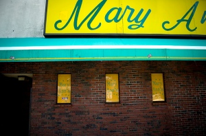 "Mary Ann's, also known as ""Scary Ann's"""