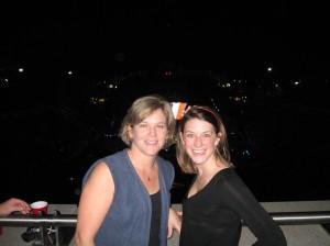 Denise and I