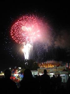 Yay! Fireworks!