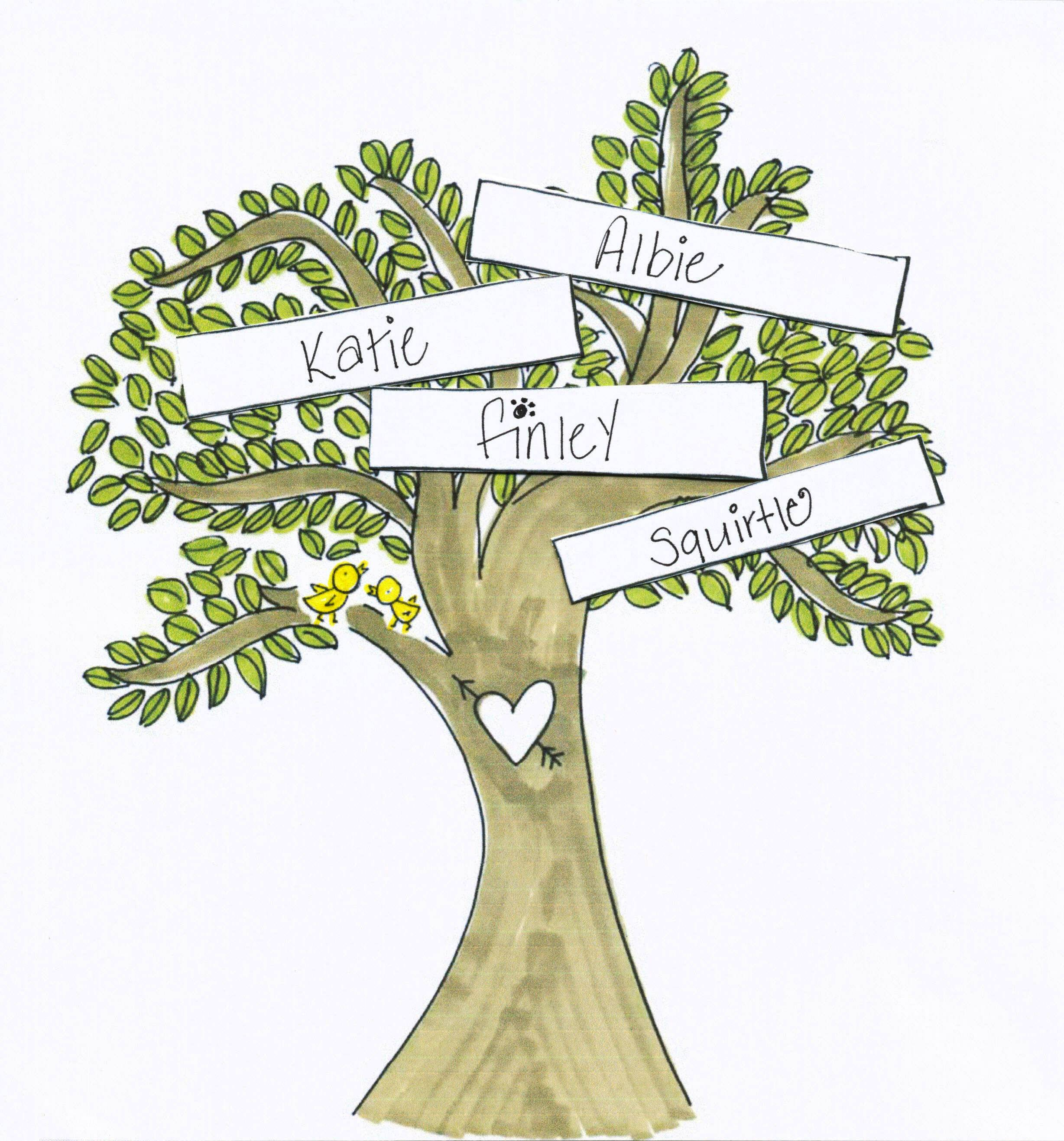 how to create a family tree in word 2010