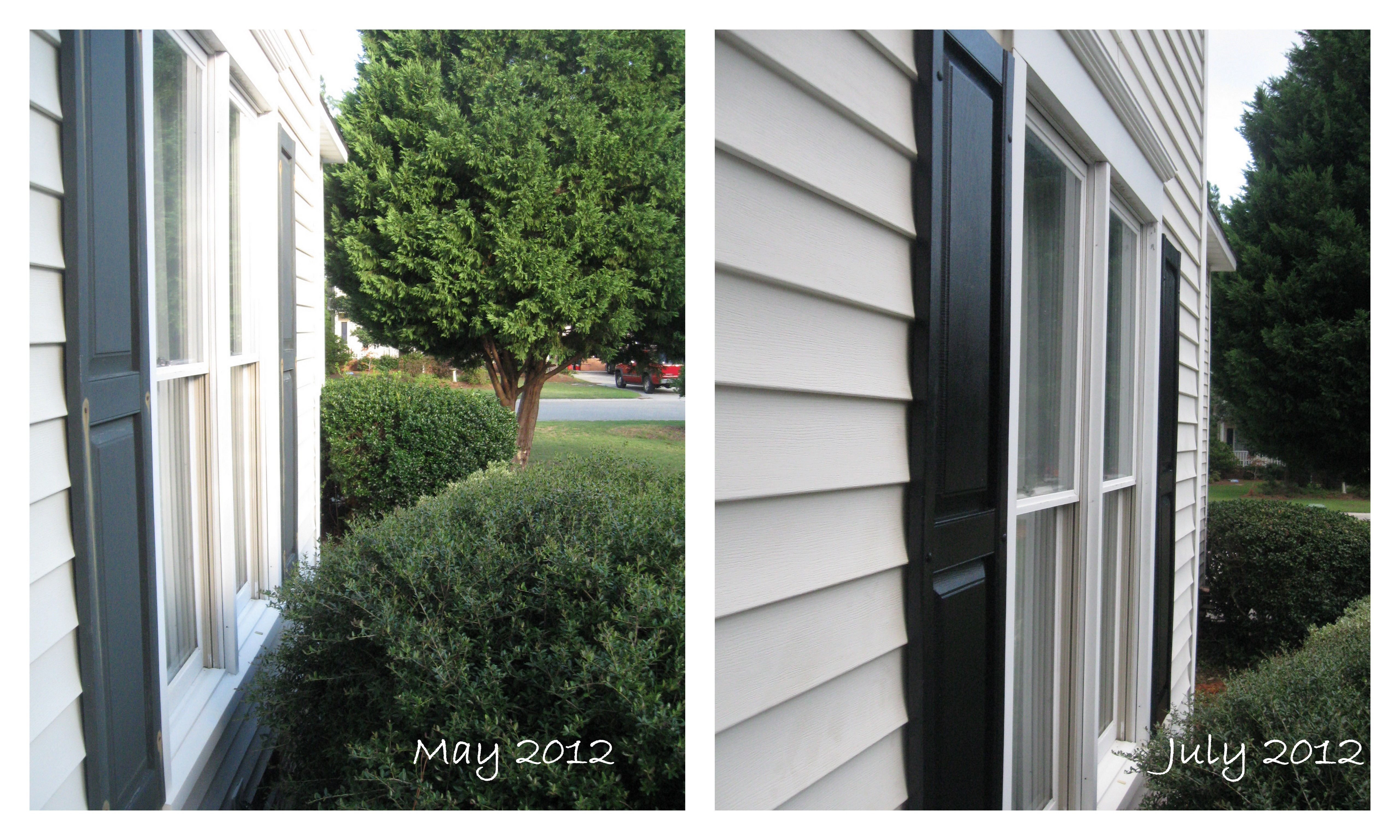 House Exterior Before And Now Oui Bien Sur
